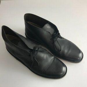 Clarks Men's Bushacre 2 Black Leather Boots 13